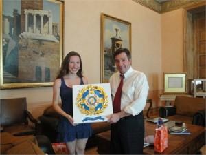 Με τον Δήμαρχο κ.Καμίνη