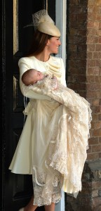 Prince George Christening - out of the Chapel
