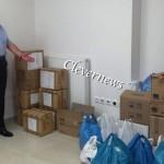 Η αποστολή φαρμάκων από τους 'Ελληνες στην Παλαιστίνη